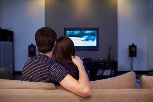 Watch an adult movie