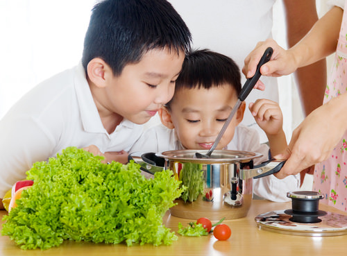 You will learn to cook and eat healthy