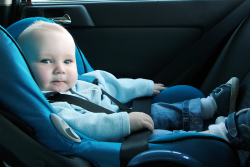 4. Take your baby for a car ride