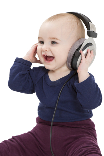 9. Let your baby listen to music