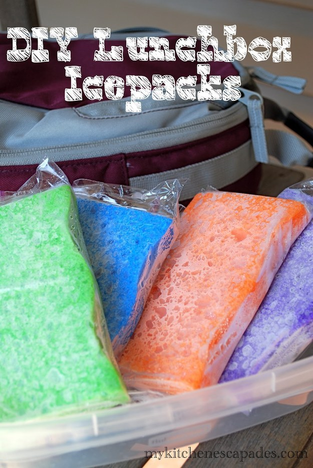 4. Here's another ice pack idea…
