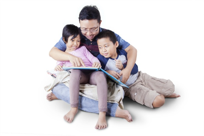 9. Provide a healthy and positive environment at home