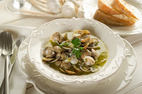 6. Clam soup with malunggay