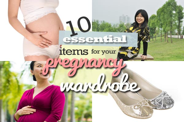 10 wardrobe staples for pregnant mums