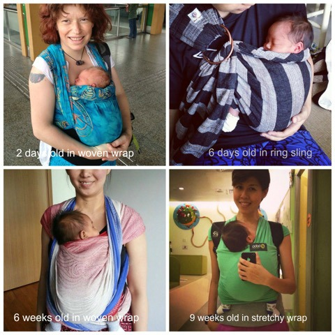 11 lessons I have learnt from wearing my baby