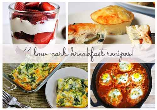 11 low carb breakfast recipes