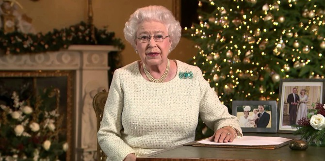 The Queen's annual Christmas address