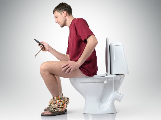 #3 Hiding in the toilet syndrome