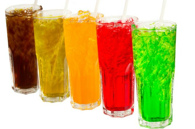 Fizzy/packaged drinks