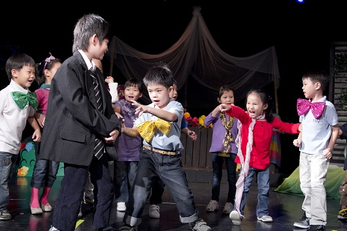 7. Fun for little thespians