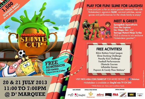 20. The Nickelodeon Slime Cup