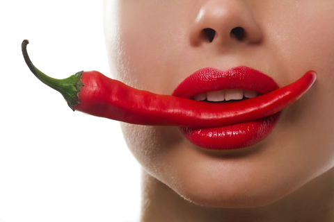 Feel that burn with chillies