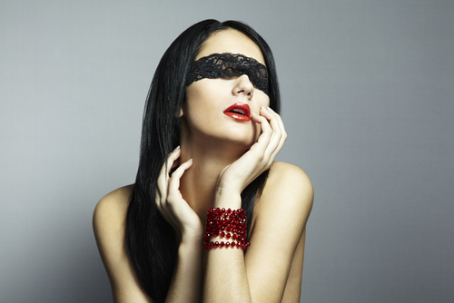 20) Blindfolding can be fun