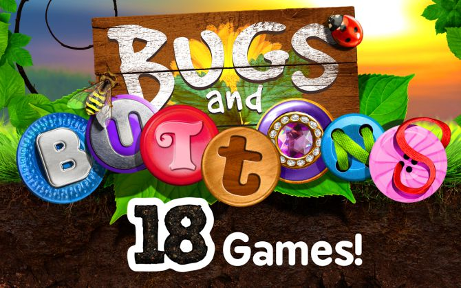 2. Bugs and Buttons, $3.98