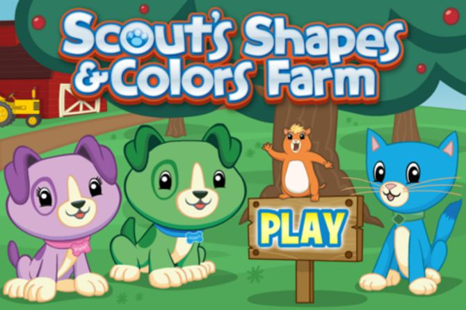 4. Scout's Shapes & Colors Farm, $1.99