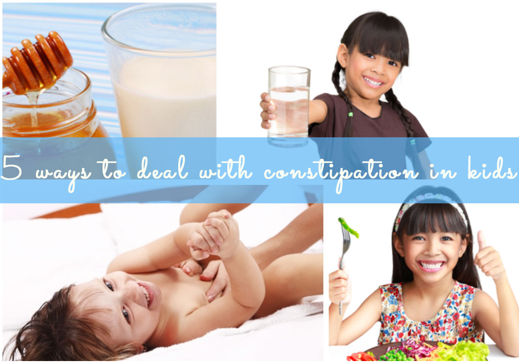 Click next to find out the 5 ways to deal with constipation..
