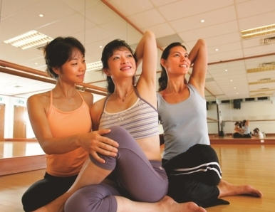 Exercise classes for mums
