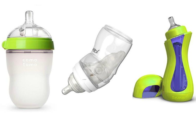 6 of the coolest baby bottles for families on-the-go