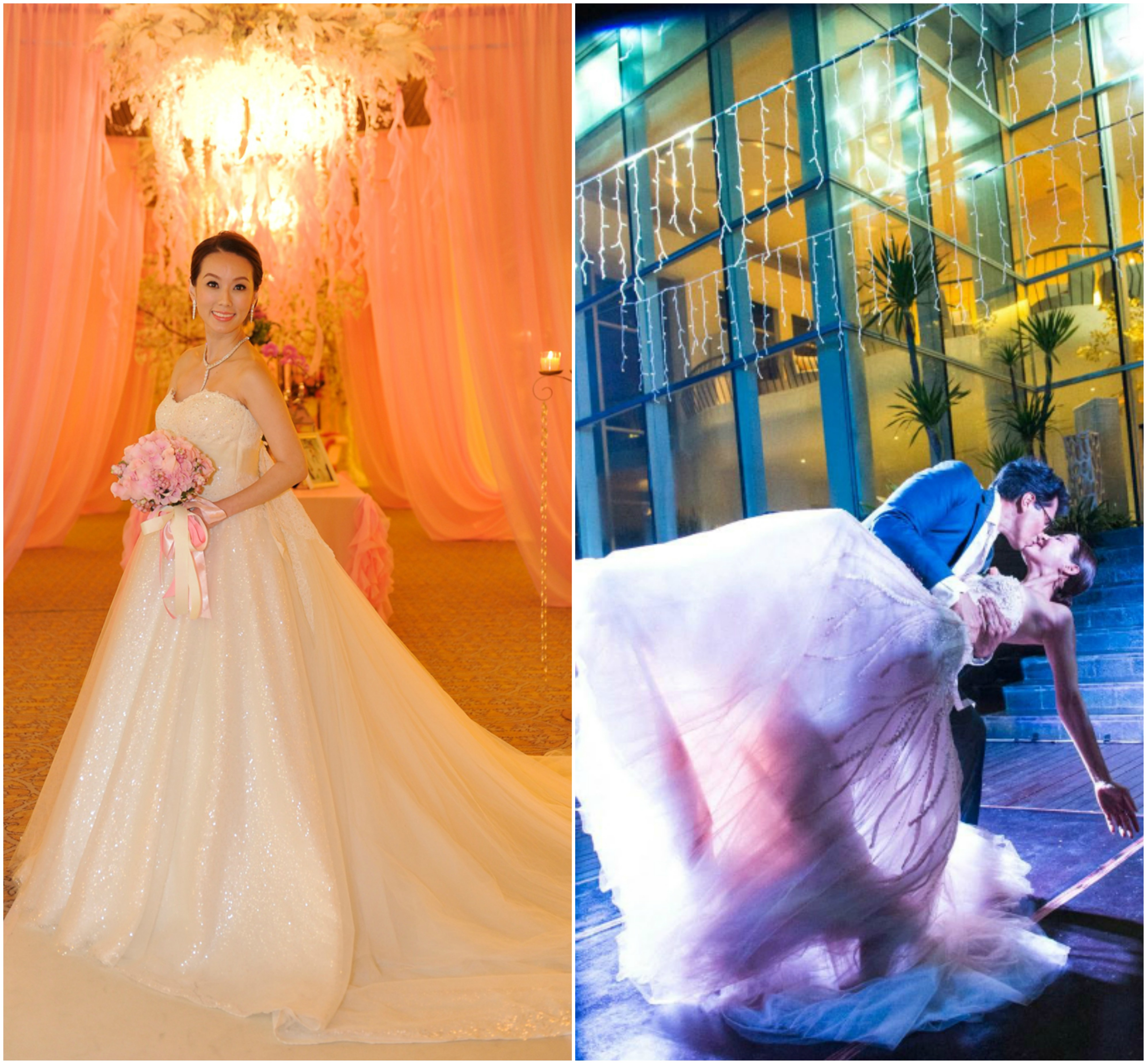 6 of the prettiest celebrity wedding dresses in Singapore