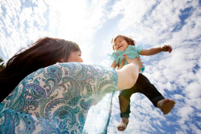 5. Seemingly 'unsafe' photos of you and your kids