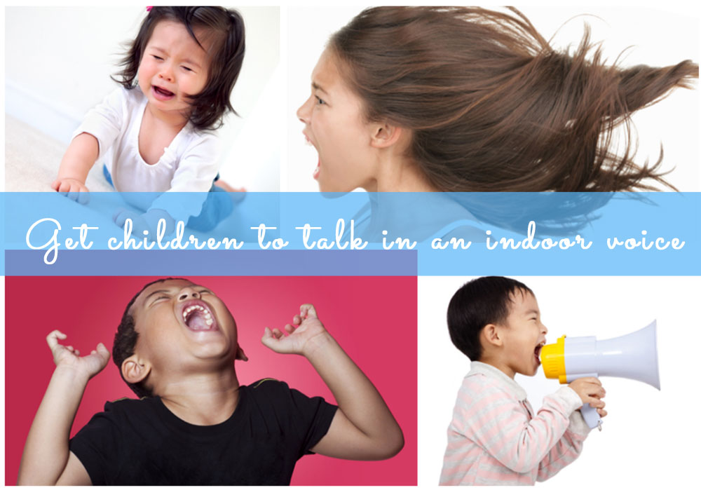 Click next to check out 6 ways to get your chidren to talk in an indoor voice..