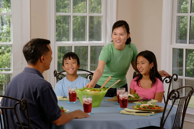 4. Change your family's eating habits