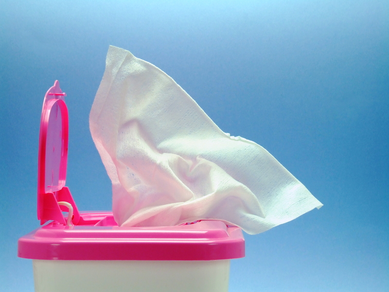 Facial tissues and wet wipes