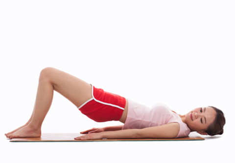 Strengthen your muscles – there!