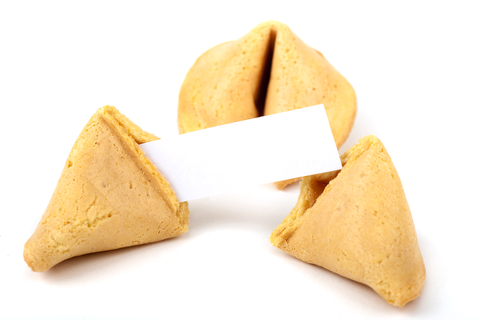 4. Make special fortune cookies