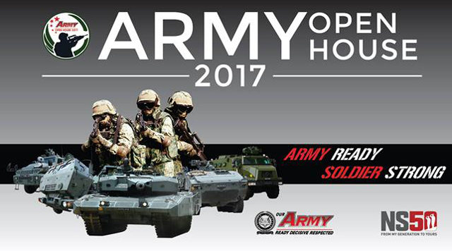 Singapore Army Open House - 27 May - 11 June