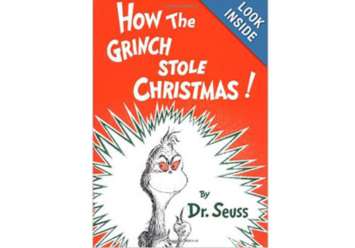 6. How The Grinch Stole Christmas by Dr. Suess