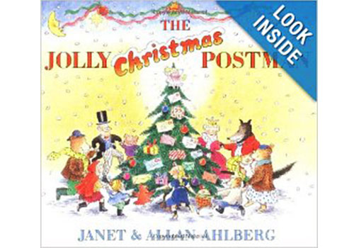 4. The Jolly Christmas Postman by Janet and Allan Ahlberg