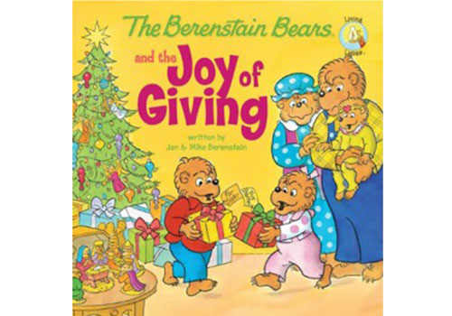 8. The Berenstain Bears and The Joy of Giving by Jan and Mike Berenstain