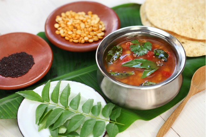 Delicious indian confinement recipes 1 garlic rasam forumfinder Images