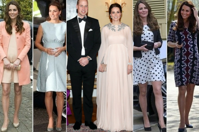 A Princess Kate style guide for pregnant fashionistas