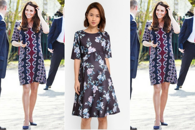 Prints and florals for Kate