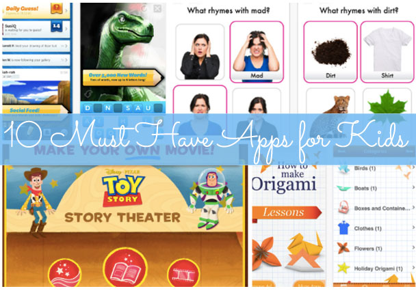 Click next to  check out apps for kids..