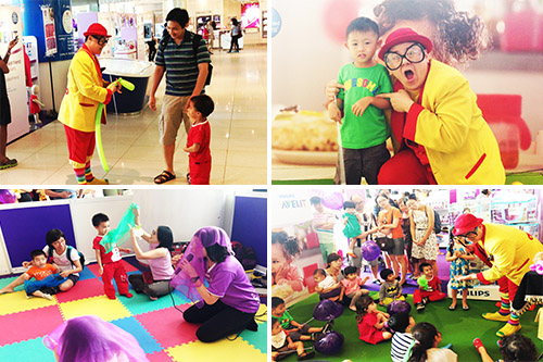 Loads of fun for the kids