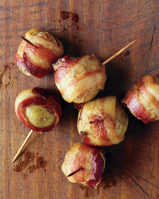 Bacon Wrapped Baby Potatoes