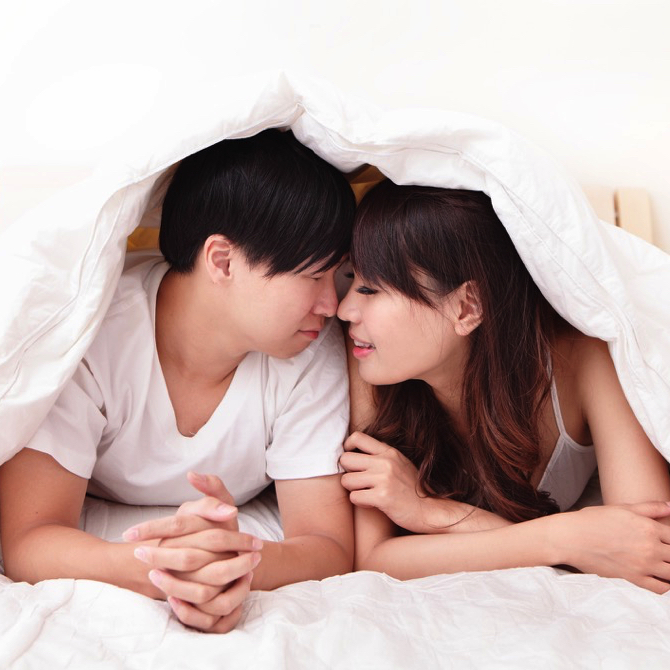 Morning sex is more intimate