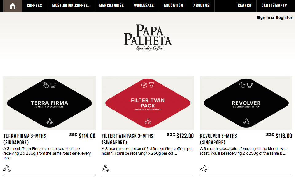 1) Papa Palheta: For a very reasonably-priced cuppa at a hideaway location...