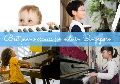 Best piano classes for kids in Singapore