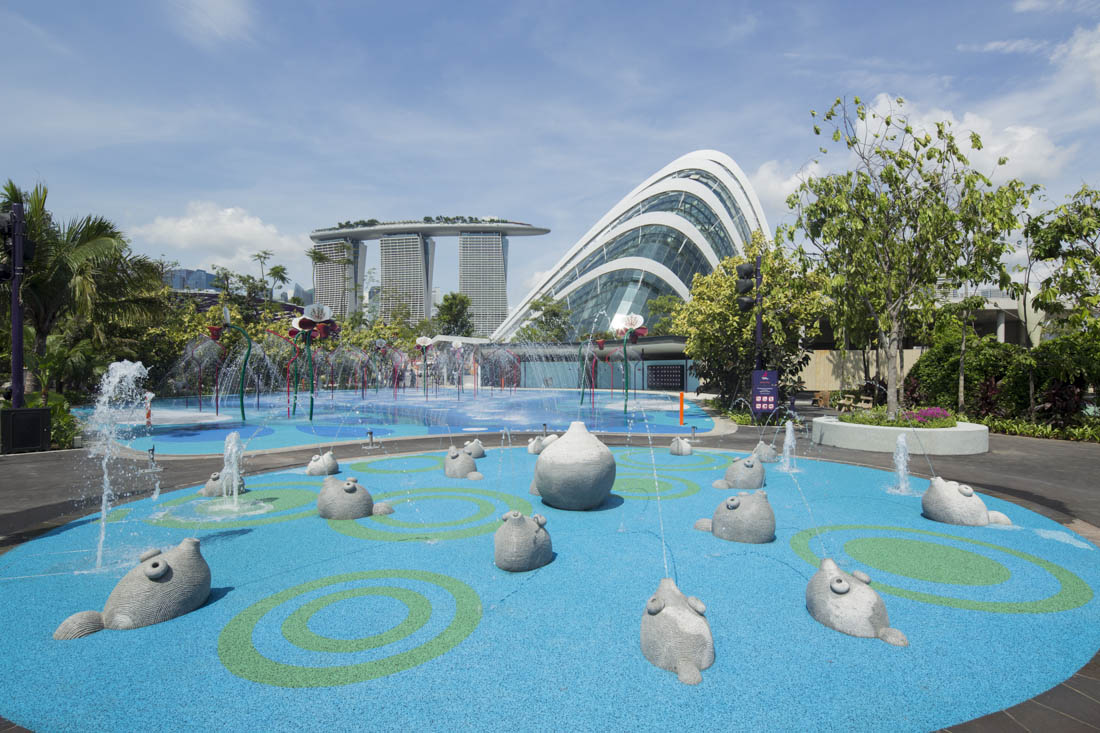 Brilliant Garden By The Bay East Entrance With Inspiration