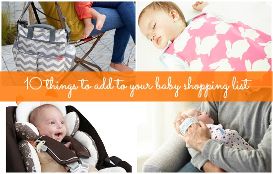 10 perfect products for your newborn's arrival