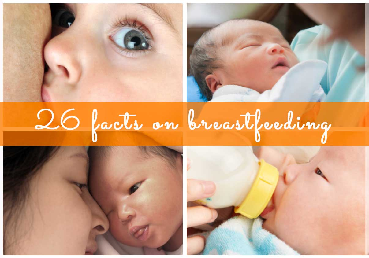 Click next to read all the facts you need to know about breastfeeding..