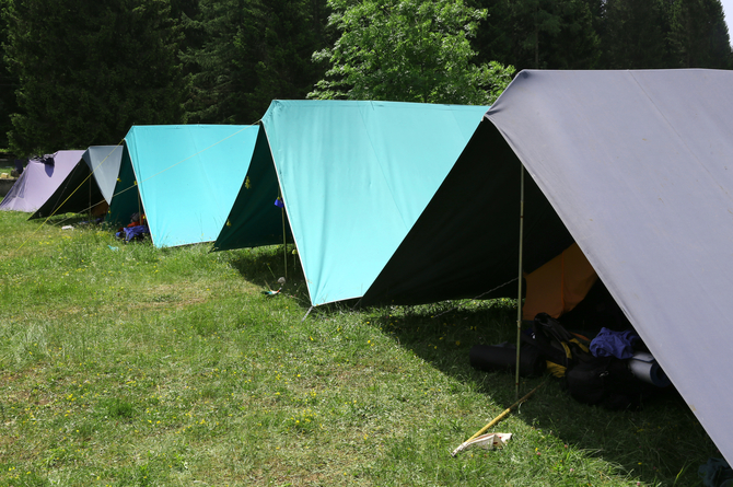 Attend an overnight camp