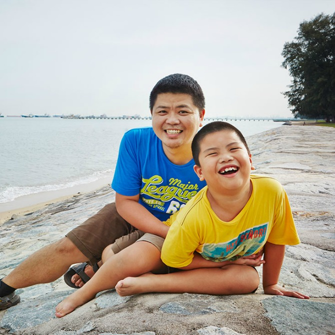 Being a caregiver to my son, has taught me how to give