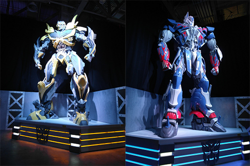 Science Centre tickets to Transformers exhibition