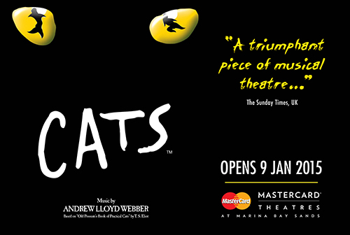Tickets to see CATS