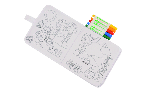 Tiger Tribe Washable Colouring Books